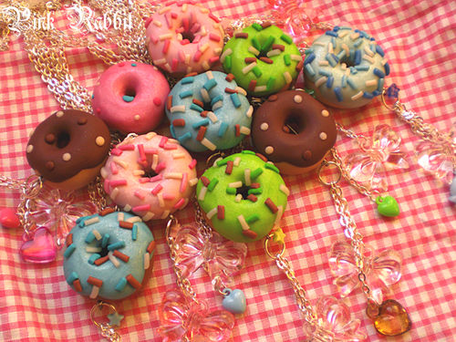Cotton candies donuts