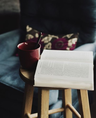 a cup of book